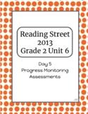2nd Grade Reading Street Unit 6 Progress Monitor Phonics and HFW