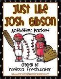 2nd Grade Reading Street Unit 6.1 Just like Josh Gibson Supplemental Pack