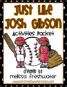 2nd Grade Reading Street Unit 6.1 Just like Josh Gibson Supplemental Pack