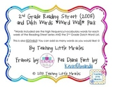 2nd Grade Reading Street, DOLCH Words, and Editable Word W