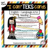 2nd Grade ELAR TEKS Cards