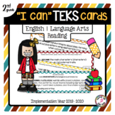 2nd Grade Reading TEKS Cards
