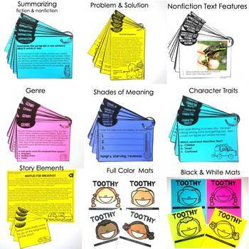 2nd Grade Reading Toothy® Bundle | Reading Comprehension Passages