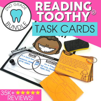 Reading Comprehension Passages and Questions | 2nd Grade Reading Toothy® Bundle