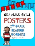 2nd Grade Reading Wonders GRAMMAR SKILL Posters/Anchor Charts