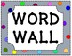 2nd Grade Reading Wonders High Frequency Word Wall