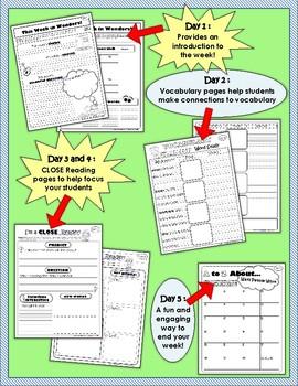 2nd Grade Reading Wonders Weekly Interactive Journal - YEAR LONG BUNDLE!