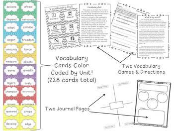 2nd Grade Reading Wonders Mega Pack