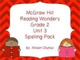 2nd Grade Reading Wonders Spelling Pack_Unit 3