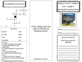 2nd Grade Reading Wonders Trifold - Unit 1, Week 4