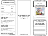 2nd Grade Reading Wonders Trifold - Unit 1, Week 5
