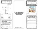 2nd Grade Reading Wonders Trifold - Unit 2, Week 1