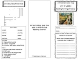 2nd Grade Reading Wonders Trifold - Unit 2, Week 3