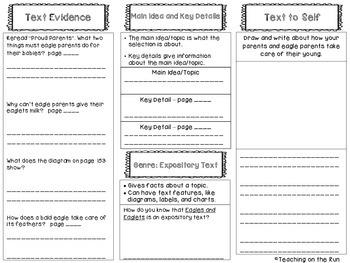 2nd Grade Reading Wonders Trifold - Unit 2, Week 4