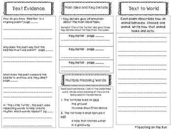2nd Grade Reading Wonders Trifold - Unit 2, Week 5