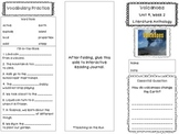 2nd Grade Reading Wonders Trifold - Unit 4, Week 2