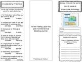 2nd Grade Reading Wonders Trifold - Unit 4, Week 3