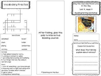 2nd Grade Reading Wonders Trifold - Unit 4, Week 4