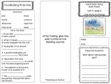 2nd Grade Reading Wonders Trifold - Unit 4, Week 5