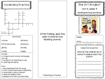 2nd Grade Reading Wonders Trifold - Unit 5, Week 4