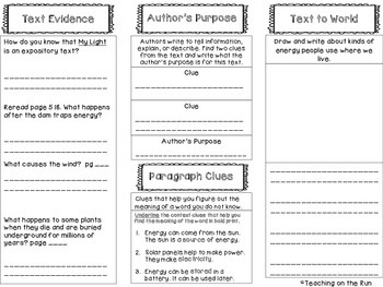 2nd Grade Reading Wonders Trifold - Unit 6, Week 2