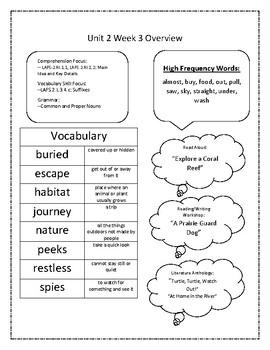 2nd Grade Reading Wonders Unit 2 Week 3 Resources