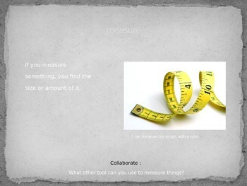 Vocabulary PowerPoint to use with Reading Wonders Unit 3