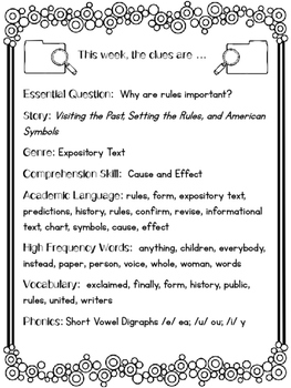 2nd Grade Reading Wonders Unit 5 Week 5 Guided Reading & Analytical Writing Pack