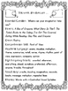 2nd Grade Reading Wonders Unit 6 Week 5 Guided Reading & Analytical Writing Pack