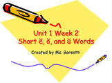 Phonics Slide Shows Bundle for Use with 2nd Grade Wonders
