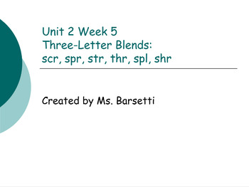 Phonics Slide Show Bundle for Use with 2nd Grade Wonders Units 1-6 Weeks 1-5