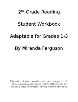 2nd Grade Reading Workbook