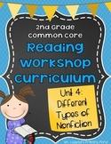 Nonfiction Reading Unit - Biographies & More {2nd Grade Reading Workshop Unit 4}