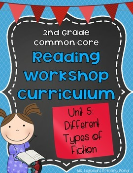 Fiction Lesson Plans - Folk Tales & More {2nd Grade Reading Workshop Unit 5}
