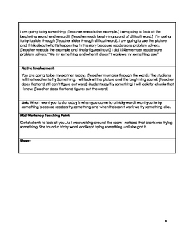 Common Core 2nd Grade Reading Workshop Mini Lessons Unit 2: Tackling Trouble