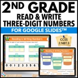 2nd Grade Reading & Writing Numbers to 1000 {2.NBT.3} - Google Classroom