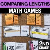 2nd Grade Comparing Lengths Math Centers - Math Games   2.MD.4