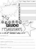 2nd Grade Resolution Sheet