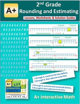 2nd Grade Rounding and Estimating Lessons, Worksheets, Solution Manuals