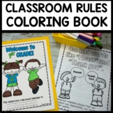 Classroom Rules Coloring Book