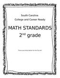 2nd Grade SC CCR MATH Standards