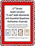 "2nd Grade SC ""I can"" Math Standards and Essential Questions Reflection Journal"