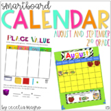 2nd Grade SMARTBoard Calendar ***Common Core Aligned*** fo