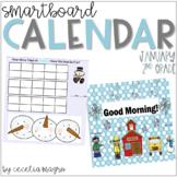2nd Grade SMARTBoard Calendar ***Common Core Aligned*** for January