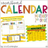 2nd Grade SMARTBoard Calendar ***Common Core Aligned*** for November