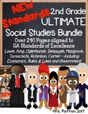 2nd Grade SS ULTIMATE BUNDLE: Juliette G Low, Rules, Econ, Carter, Robinson,King