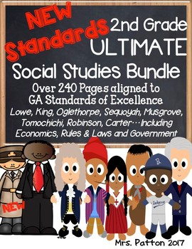 2nd Grade 2017 SS ULTIMATE BUNDLE:Juliette G Low, Rules, Carter, Robinson,King