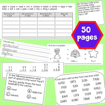 2nd Grade SUMMER Skills Review Packet