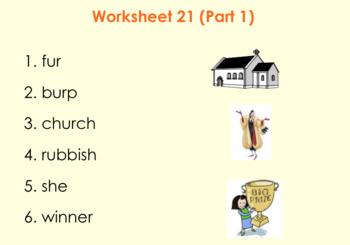 2nd Grade Saxon Phonics Lesson 21