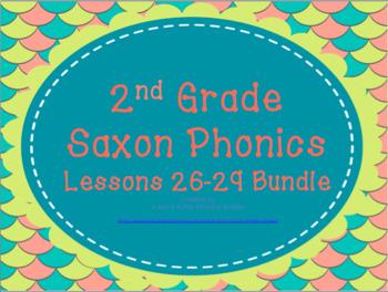 2nd Grade Saxon Phonics Lessons 26-29